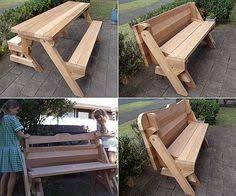 1 piece folding picnic table plans folding picnic tables
