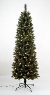 4 5 pre lit yorkville pine pencil artificial tree