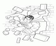 superman coloring pages free printable
