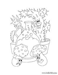 enchanted plants coloring pages hellokids com