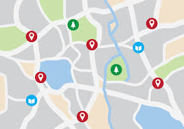 vector map city map vector free vector stock graphics images