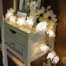 String Of Flower Lights by 14 String Light Ideas That Are Cozier Than Your Bed Hometalk