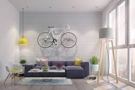 light brick sets living room orange pedant light exposed brick walls high l