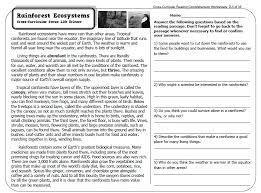 informational text worksheets middle worksheets