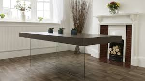 glass furniture aria espresso dark wood and glass dining table dark wood dark