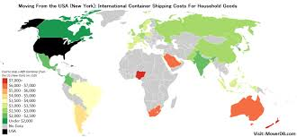 Household Goods Move Estimate by 2017 International Conatiner Shipping Rates Costs Moverdb Com