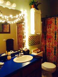string lights in bathroom hmm the burrow pinterest lights