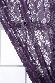 interior floral lavender blackout curtains for window decor idea