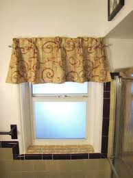Curtain Ideas For Bathroom Windows Home Accecories Bathroom Window Curtains Window Treatment Ideas