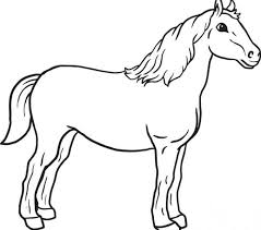 horse pictures color print cheval 1 horses coloring pages