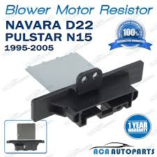 blower motor heater fan resistor for nissan navara d22 pulsar n15