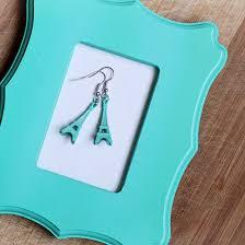 eiffel tower earrings sugar bee crafts