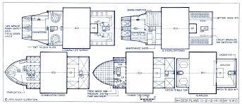 ship floor plans cargo ship deck plans deck blueprints popideas