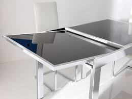 contemporary dining tables extendable contemporary modern extendable dining table with regard to gorgeous