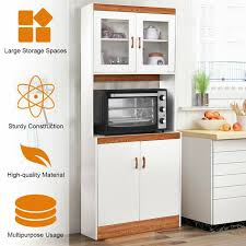 kitchen storage cabinet cart shelves microwave cart stand kitchen storage cabinet hw56197