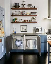 ikea kitchen cabinets laundry room 7 ways to sneak a washer dryer into the kitchen