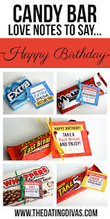 101 creative u0026 inexpensive birthday gift ideas candy bar gifts