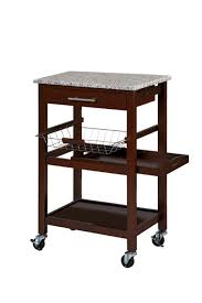 essential home torres kitchen cart