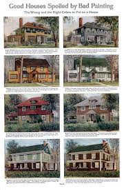 house paint color good and bad house paint colors 1912