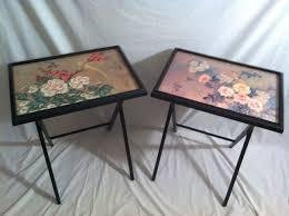 Folding Tray Table Set Best 25 Asian Tv Trays Ideas On Pinterest Bedroom Designs