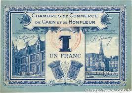 chambre de commerce caen 1 franc regionalism and miscellaneous caen et honfleur 1920