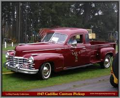 1948 cadillac pickup genuine article