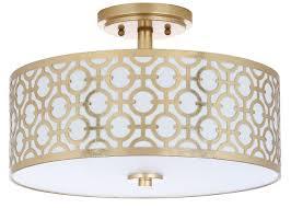 gold flush mount light flu4001a flush lighting lighting by safavieh
