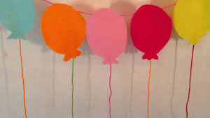how to make a balloon garland for birthday diy home