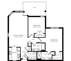 Floor Plan Of A 2 Bedroom House Garden Homes Greensboro Nc Garden Home Floor Plans