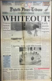 anniversary of the 1991 halloween megastorm u2013 news tribune attic