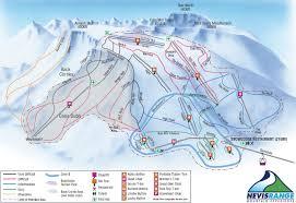Colorado Ski Area Map by Nevis Range Piste Map Ski Maps Pinterest Scottish Highlands