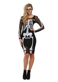 skeleton halloween ideas mesh skeleton dress