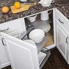 blind corner kitchen cabinet inserts heavy duty sliding door basket blind corner