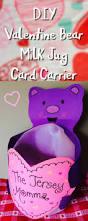 the jersey momma diy valentine milk jug card carrier valentine u0027s