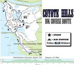 Sf Marathon Map Race Info Coyote Hills