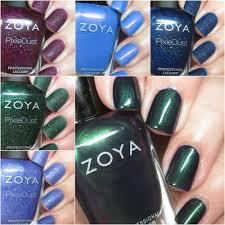 the polishaholic zoya holiday 2016 enchanted collection swatches