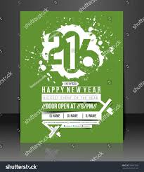 new year party flyer poster template stock vector 345417236