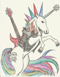 punk rock unicorn by kacey007 on deviantart