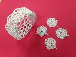 3d printing jewelry and christmas ornaments for the holidays