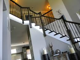 Iron Handrail For Stairs Wood Stairs And Rails And Iron Balusters