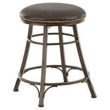 Counter Stool Backless Hillsdale Montello 26 In Backless Swivel Counter Stool Old