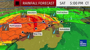 Weather Channel Radar Map Water Rising In Houston During Harvey The Weather Channel