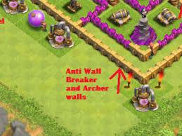 layouts clash clans wiki fandom powered wikia anti wall breaker walls