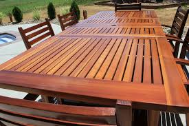 Cedar Patio Furniture Plans Redwood Patio Table Set By Thepps Lumberjocks Com