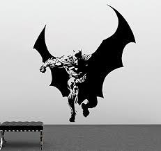 Batman Home Decor Batman Wall Vinyl Decal Superheroes Vinyl Stickers Batman Decals