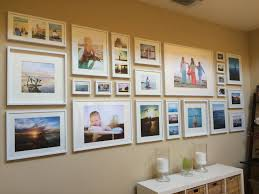 how to do a gallery wall easy diy tutorial gallery wall with ikea ribba frames gallery
