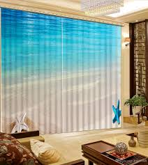 2017 modern curtains for bedroom decorative home decor beach wave