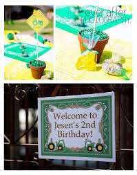 kara u0027s party ideas john deere tractor themed birthday party