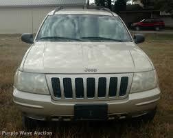 2001 gray jeep grand cherokee 2001 jeep grand cherokee suv item df9835 wednesday decem