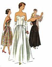 vintage wedding dress patterns 1950s wedding dress pattern ebay